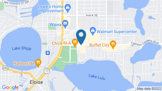 Holiday Inn Winter Haven Map