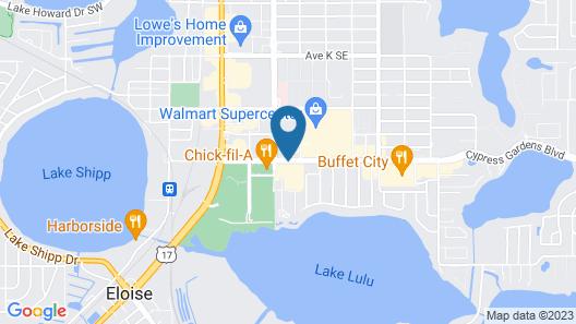 Hampton Inn Winter Haven Map