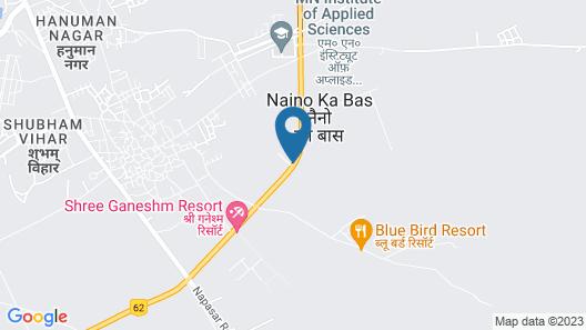 Hotel Gaj Kesri Map