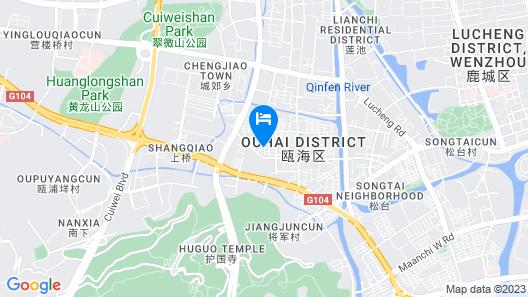 Wenzhou Jiangjun Hotel Map