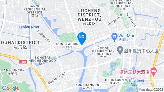 GreenTree Inn WenZhou XiaoNanMen Express Hotel Map