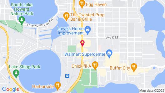 Howard Johnson by Wyndham Winter Haven FL Map