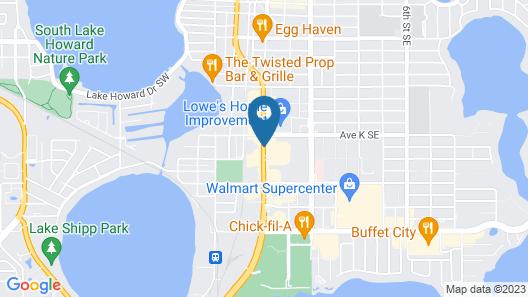 Winter Haven Gardens Inn  Map