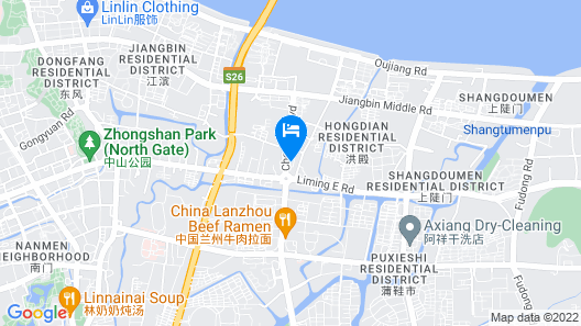 Atour Hotel Station Ave Wenzhou Map