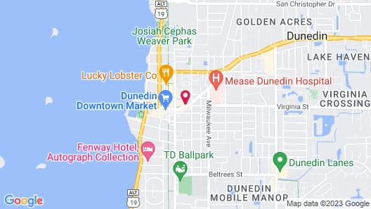 Meranova Guest Inn Map