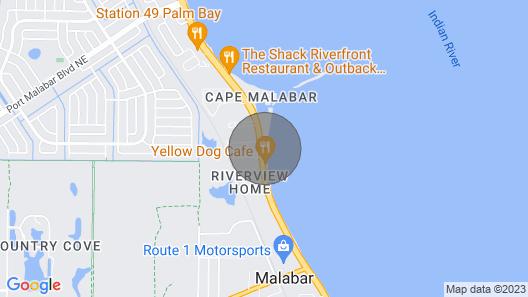 Prestigious Waterfront Villa Map