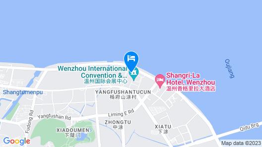 Shangri-La Hotel, Wenzhou Map