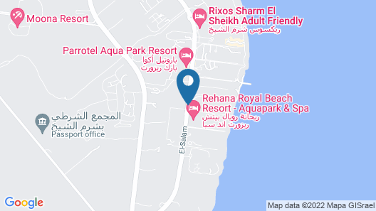 Cleopatra Luxury Resort Sharm El Sheikh Map