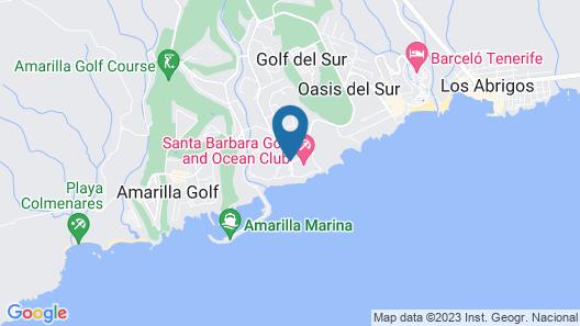 Duquesa Del Mar air conditioning 2 bedrooms 2 bath Apartment in Golf Del Sur Map