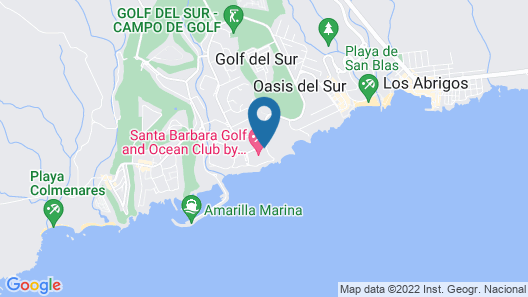 Santa Barbara Golf and Ocean Club by Diamond Resorts Map