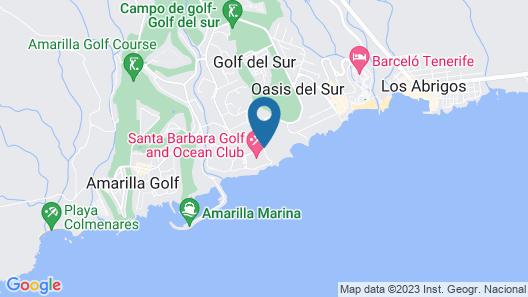 Santa Barbara Golf and Ocean Club by Diamond Resorts Map