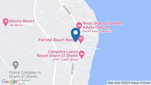 Parrotel Aquapark Resort Map