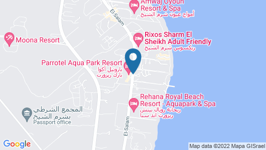 Parrotel Beach Resort Map