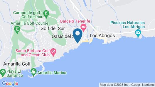 Vincci Tenerife Golf Map