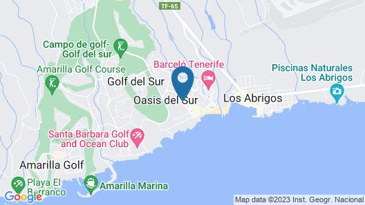 Sunset View Club by Diamond Resorts Map