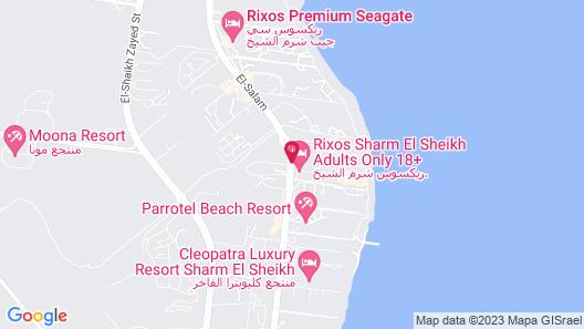 Rixos Sharm El Sheikh - Adults Friendly Map