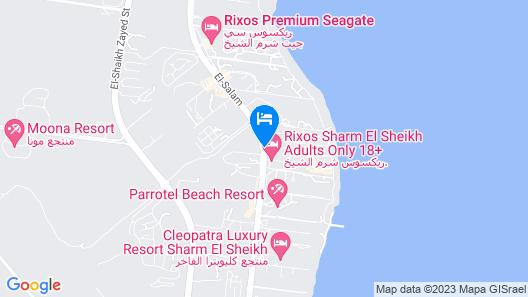 Rixos Premium Seagate Sharm El Sheikh Map