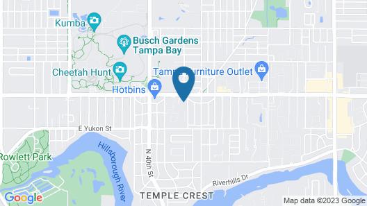 Econo Lodge Busch Gardens Map