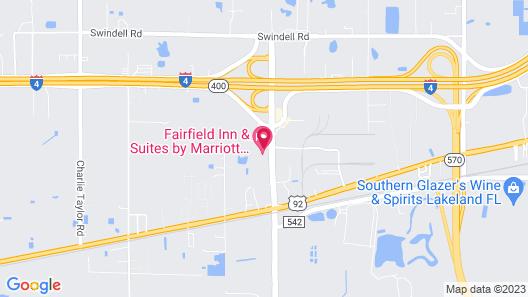Fairfield Inn & Suites by Marriott Lakeland Plant City Map
