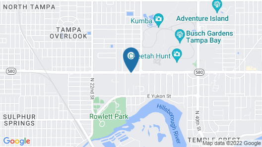 Holiday Inn Express & Suites Tampa USF Busch Gardens, an IHG Hotel Map