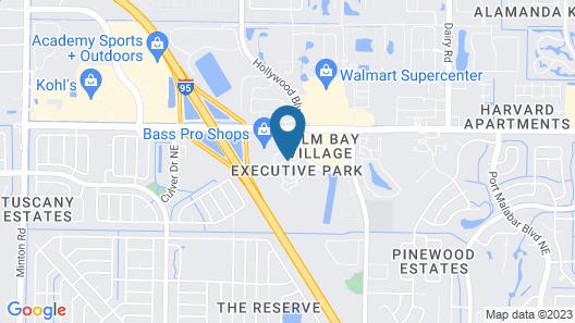 Hyatt Place Melbourne / Palm Bay Map