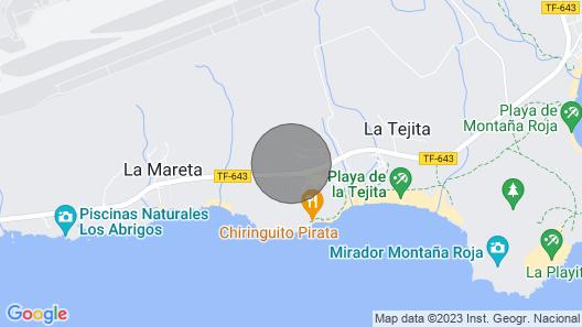 Home2book La Tejita Beach and Pool Map