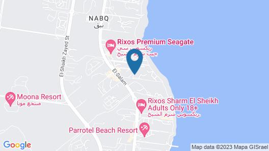 Amwaj Oyoun Resort & Casino Map