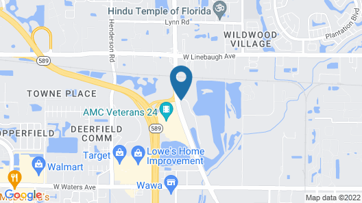 Holiday Inn Express Hotel & Suites Tampa-Anderson Rd/Veteran, an IHG Hotel Map