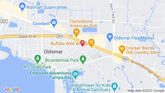 Residence Inn by Marriott Tampa Oldsmar Map