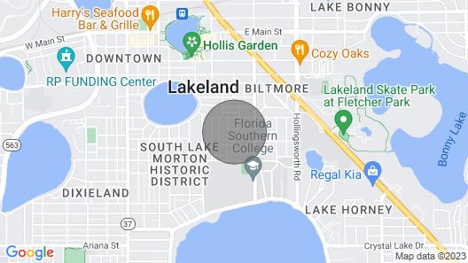 The Lake Morton Loft in Historic Downtown Lakeland, FL Map
