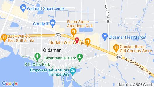 Holiday Inn Express Hotel & Suites Tampa Northwest - Oldsmar, an IHG Hotel Map