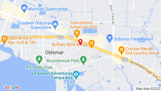 Holiday Inn Express Hotel & Suites Tampa Northwest - Oldsmar Map