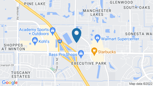 Extended Stay America Premier Suites Melbourne Palm Bay Map