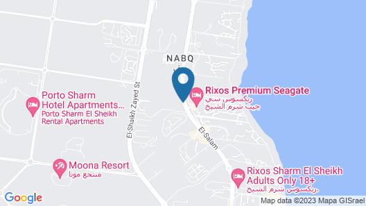 Horizon Sharm Resort Map