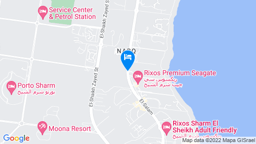 Coral sea Holiday Resort & Aqua park - All Inclusive Map