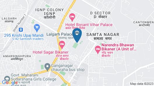 The Laxmi Niwas Palace Map