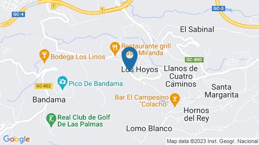 Hotel Rural El Mondalón Map