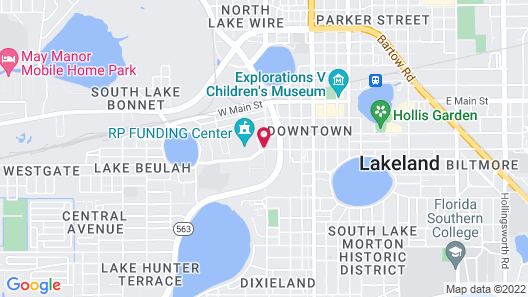 SpringHill Suites by Marriott Lakeland Map