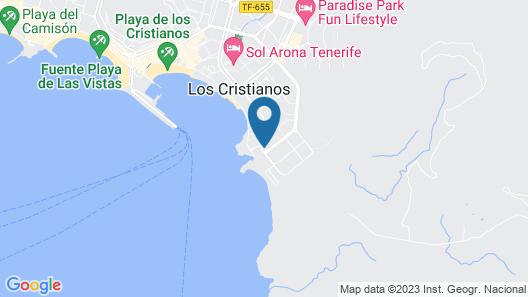 Paloma Beach Apartments Map