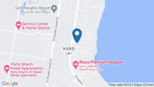 Aurora Oriental Resort Sharm El Sheikh Map
