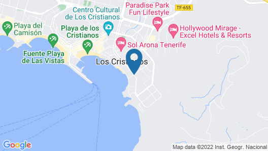 Spring Arona Gran Hotel & SPA - Adults Only Map
