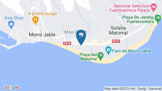 IFA Altamarena Hotel Map