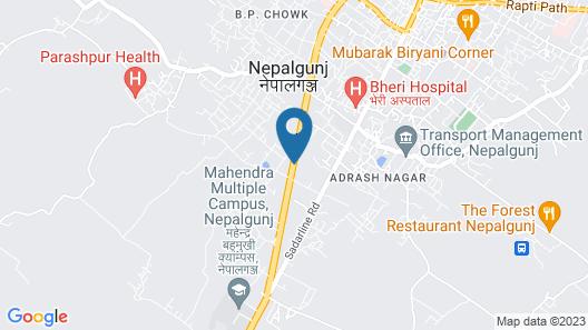Hotel Sneha Clarks Inn Suites Nepalgunj Map