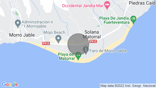 Apartment, Jandía Map