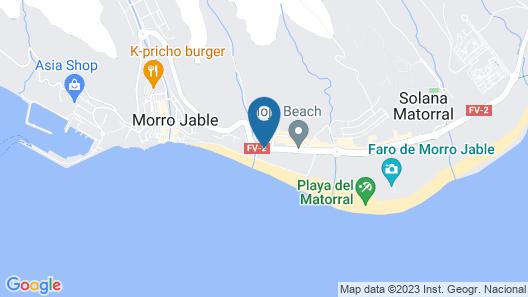Blue Sea Jandia Luz Apartamentos Map