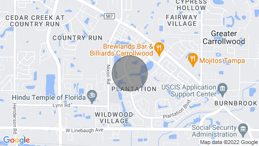 Lovely House in Tampa Bay! Map