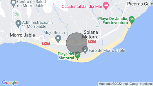 Plus Casa Atlantica Morro Jable 361 Map