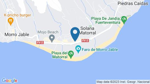 MUR Hotel Faro Jandía Map