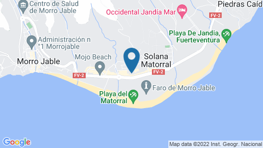 Beautiful Apartment in Morro Jable With TV Map