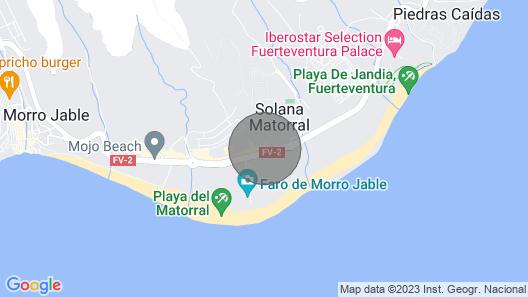 Palm Garden Jandía by Canariasgetaway Map